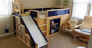 Lit Toboggan Ikea : il construit le lit 3 en 1 le plus cool du monde pour son fils ~ Premium-room.com Idées de Décoration