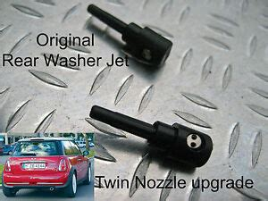 repair windshield wipe control 1957 bmw 600 navigation system rear washer jet twin nozzle upgrade bmw mini r50 july 2004 2005 to october 2006 ebay