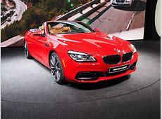 2015 NAIAS BMW 6 Series Convertible Facelift