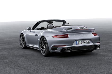 porsche cabriolet turbo porsche 911 turbo cabriolet 991 2 specs 2016 2017