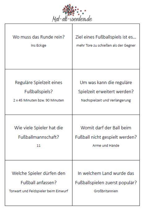 das grosse fussball quiz mit  kostenlosen raetselkarten