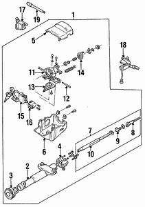 Chevrolet Cavalier Column Cover  1991 O Tilt Wheel