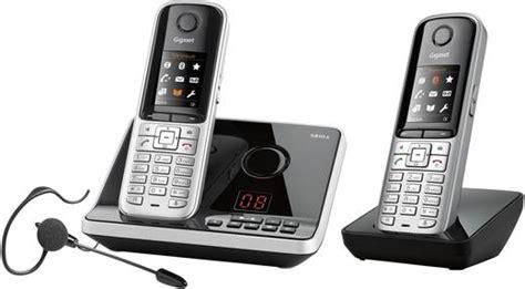 telefon mit headset schnurloses telefon analog gigaset s810a duo mit headset anrufbeantworter headsetanschluss