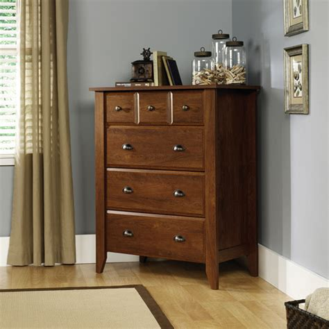 Sauder Shoal Creek Dresser Assembly by Sauder Shoal Creek 4 Drawer Chest Oak Walmart