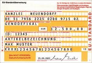 Iban Berechnen Postbank : eu standard berweisung internationale berweisung treuhand ~ Themetempest.com Abrechnung