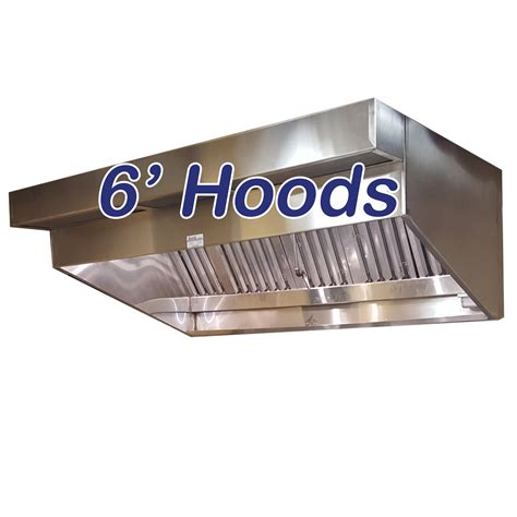 sloped canopy hoods   ceiling commercial hood  restaurant hood