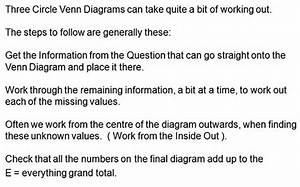 Sets And Venn Diagrams Word Problems