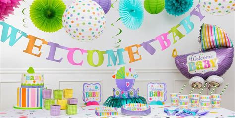 Bright Welcome Baby Shower Decorations