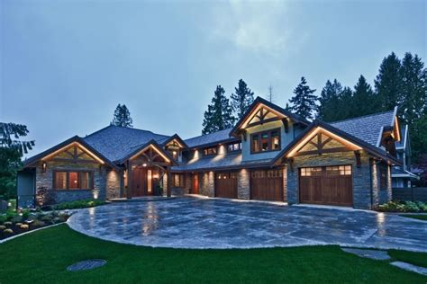 traditional craftsman home featuring natural materials craftsman style house plans craftsman
