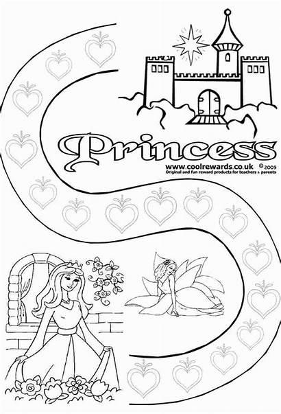 Reward Chart Printable Princess Charts Incentive Star