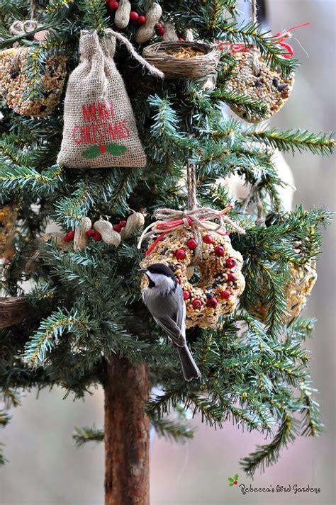 rebecca s bird gardens blog a christmas tree for the birds