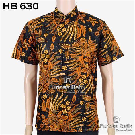 jual new arrival kemeja batik pria baju batik modern hem batik pra elegan di lapak furiosa