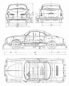 volkswagen karmann ghia 1960 blueprint download free With 1955 dodge ram van