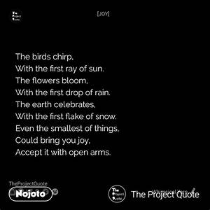 Meghna writes o... Chirp Quotes