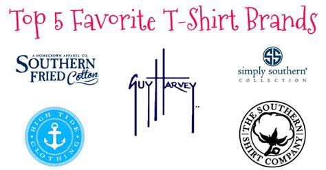 Stay Fabulous Top 5 Favorite Tshirt Brands