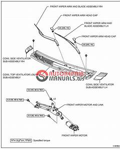 Free Download  Toyota Yaric Repair Manuals  Wiper And Washer