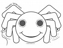 HD Wallpapers Halloween Mask Coloring Pages