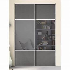 Porte Coulissante Miroir Sur Mesure : portes coulissantes de placard karacter 2 miroir et effet ~ Premium-room.com Idées de Décoration