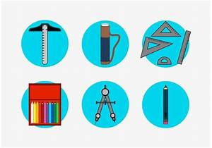 Architecture Tools Vector Icons Set Free - Download Free ...