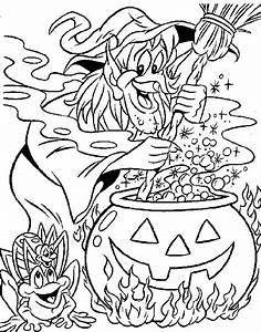 Kids N Fun Kleurplaat Heksen Heks
