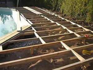 Sol Pour Terrasse : terrasse suspendue pour piscine hors sol ~ Edinachiropracticcenter.com Idées de Décoration