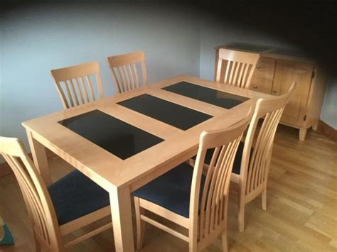marble and wood dining table dining table solid wood and marble with 6 chairs and