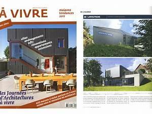 Architecture à Vivre : articles de presse architecture ~ Melissatoandfro.com Idées de Décoration