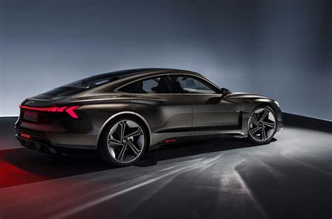 audi  tron gt concept unveiled  electric flagship autocar
