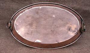 french copper chef cookware au gratin egg casserole copper oval pan tin lined  ebay