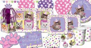 cat birthday supplies purr ty time kitten supplies ideas accessories