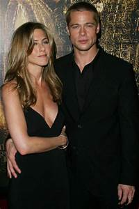 Brad Pitt and Jennifer Aniston are supposedly friends