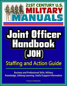 21st Century U S  Military Manuals  Joint Officer Handbook