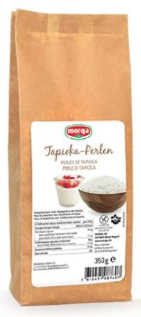 tapioka perlen kaufen tapioka perlen glutenfrei 350g