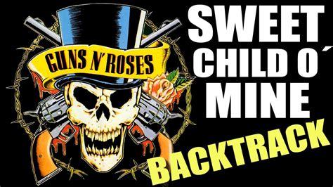 Sweet Child O´ Mine Guitar Backing Track