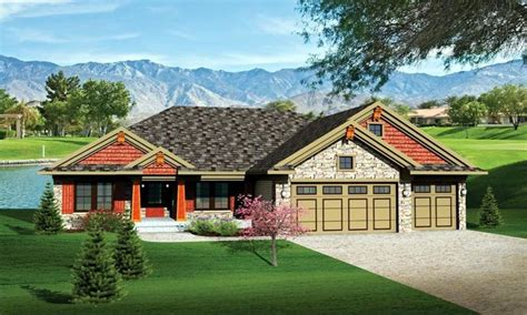 ranch house plans ranch house plans with 3 car garage ranch house plans with
