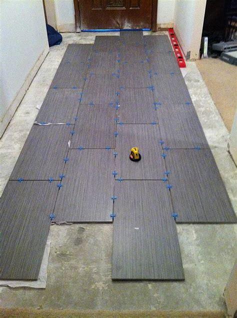 how to lay 12x24 tile hallway 12x24 ceramic tile advice forums bridge