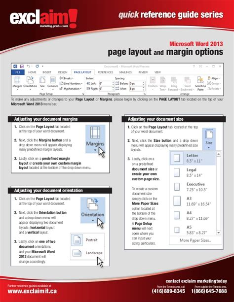 Free Microsoft Word 2013 Quick Reference Guide