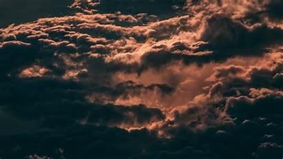 Sky Clouds Dark 4k Overcast Skylight Background