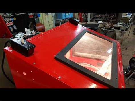 harbor freight sandblast cabinet light pt 8 hf blast cabinet lighting upgrade kit harbor