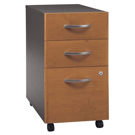 3 drawer vertical file cabinet bush series c 3 drawer vertical mobile wood file natural