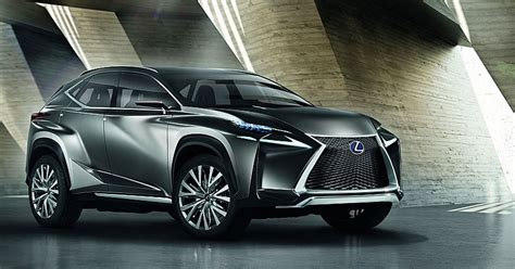 cool suv lexus it s official the lexus lf nx suv concept is more