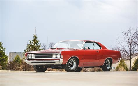 1969 Ford Torino Cobra Indian Fire Red Wallpaper