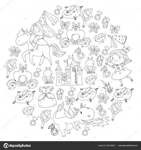 Kleurplaat Kasteel Prinses by Kleurplaat Kasteel Prinses Kleurplaten Tekeningen
