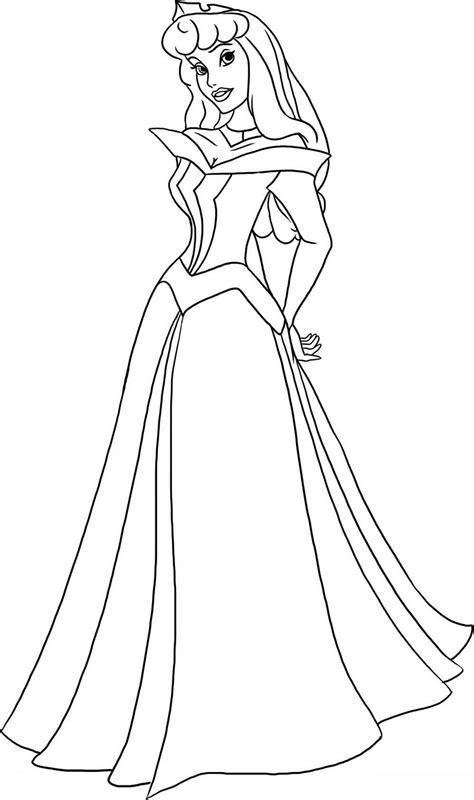 dibujos de todas las princesas de disney  colorear las
