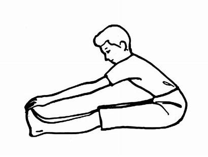 Toes Touch Toe Clipart Exercise Clip Touches