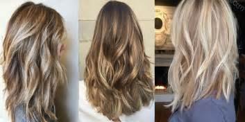 coiffure mariage cheveux mi 20 magnifiques modèles cheveux mi longs méchés tendance 2017 coiffure simple et facile