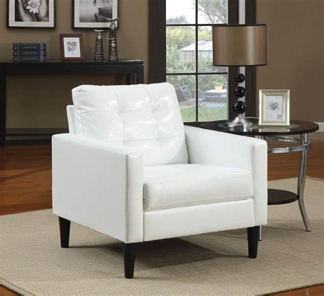 And White Chairs Living Room by 37 White Modern Accent Chairs For The Living Room