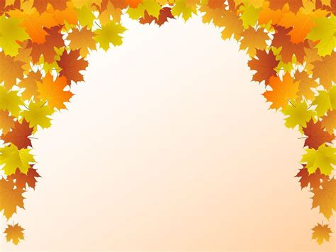 Autumn Leaves Fall Backgrounds Powerpoint by Autumn Leaf Backgrounds Wallpaper Cave