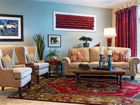 casual eclectic family room sandy kozar hgtv