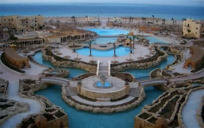 Egypt Soma Bay Cities 4k Wallpapers Architecture